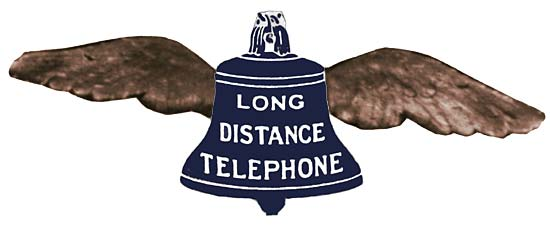 Proposed AT&T Long Distance Telephone Pay Station Sign - 1888